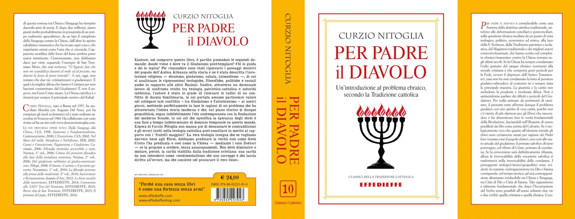 Per Padre Il Diavolo Introduzione Al Problema Ebraico